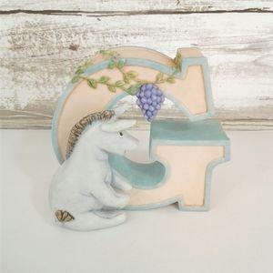 Disney Classic Pooh Ceramic G Initial Eeyore